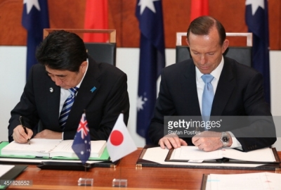 Japan and Australia sign Free Trade Agreement 2014