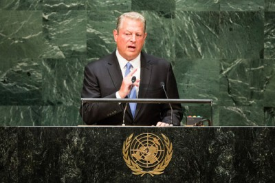 Al Gore ignores inconvenient 19 year halt in Global Warming