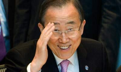UN Secretary Gen Banki Moon
