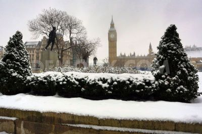Its going to be cold in London