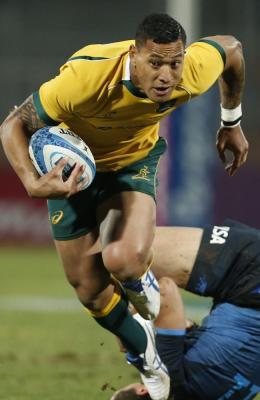 Israel Folau Australian Fullback