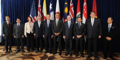 Leaders of Trans Pacific Partnership States 2013