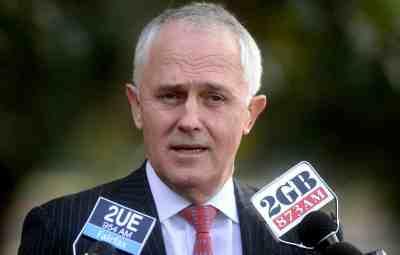 Turnbull tells Aussies