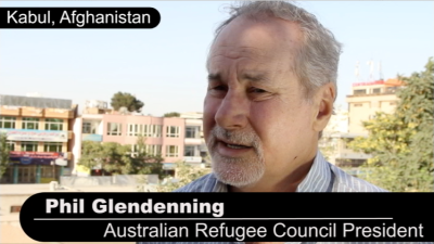 Australian Refugee Council's Phil Glendenning
