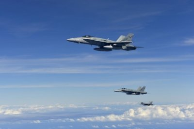 RAAF F18 Hornets headed for Syria
