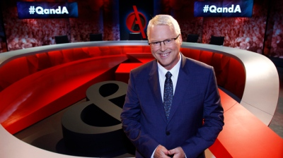 ABC QandA Presenter Tony Jones