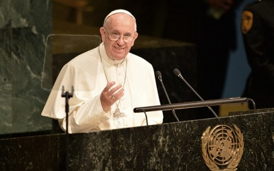 Pope Francis addresses UN General Assembly