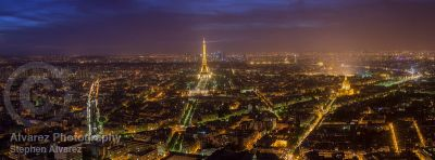 The Paris skyline from Tour Montparnesse.