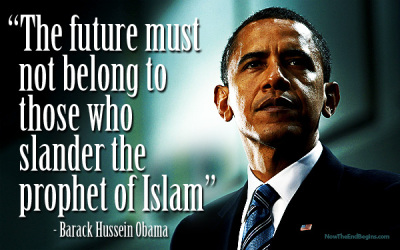Obama lets Muslims know he is on their side