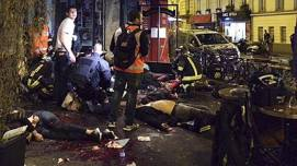 Islam the enemy of Freedom and Democracy strikes at the Heart of Paris