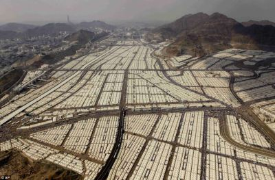 Saudi tent city ready for up to 2 million, not one refugee