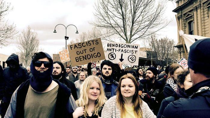 ANTI RACISM PROTEST BENDIGO