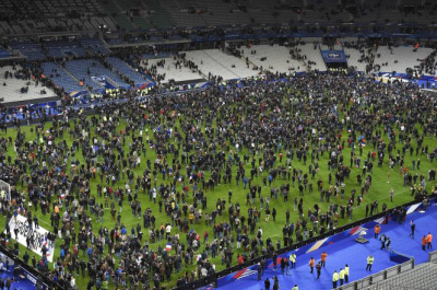 Response to Terror Bombing near Stade de France