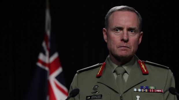 Australian of the Year David Morrison