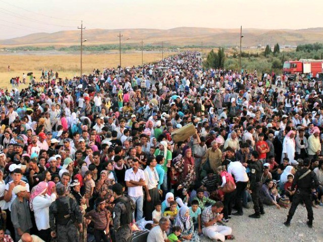 EUMideast-Iraq-Syrian-Rrfugees