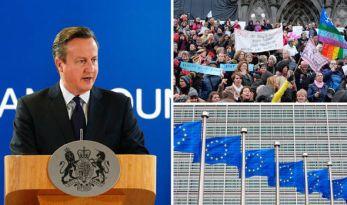 David Cameron v EU