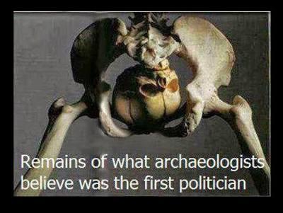 Remainsoffirstpolitician
