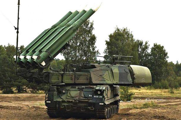 Russian BK Bulk-missile-system
