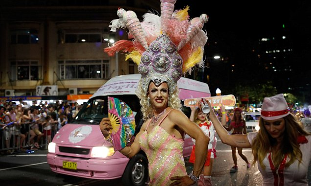 Behinds The Scenes Of The Sydney Gay & Lesbian Mardi Gras Parade