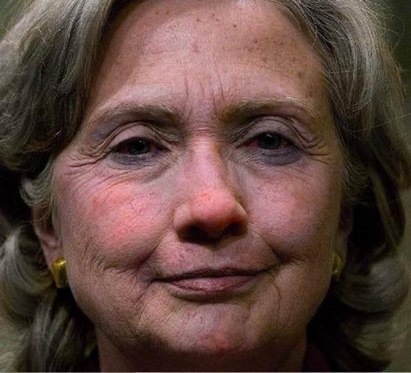 Hillaryafterbadday